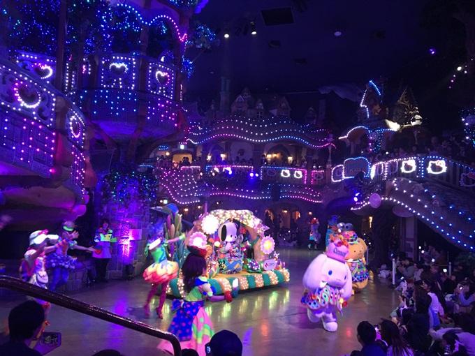 miracle Gift paradeパレード