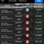 9週目トライオートFX自動売買の不労所得